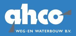 AHCO Weg- en waterbouw Logo